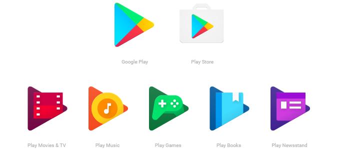 Новые иконки Google Play