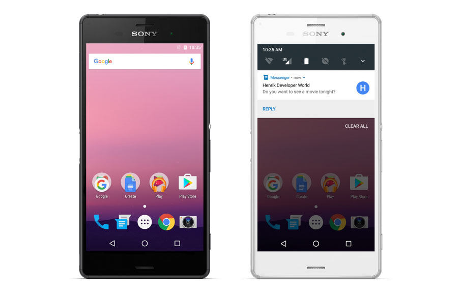 Android-N-DP3-for-Sony-Xperia-Z3