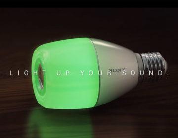 дата выхода Sony LED Bulb Speaker