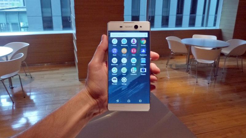 Sony-Xperia-XA-Ultra живые фото снимки
