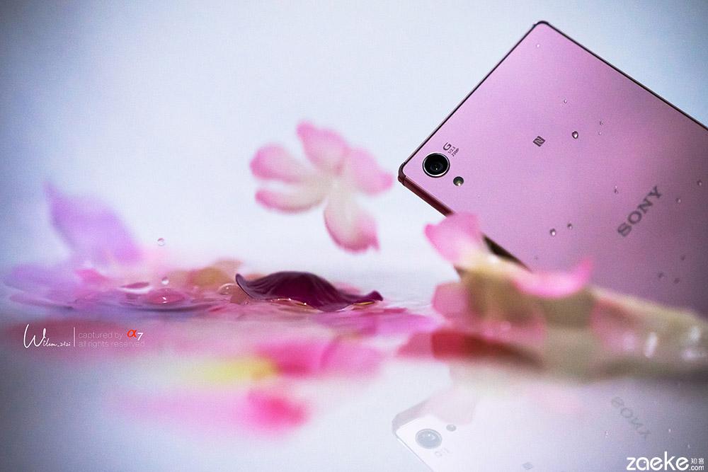 Xperia-Z5-Premium розовый цвет фото