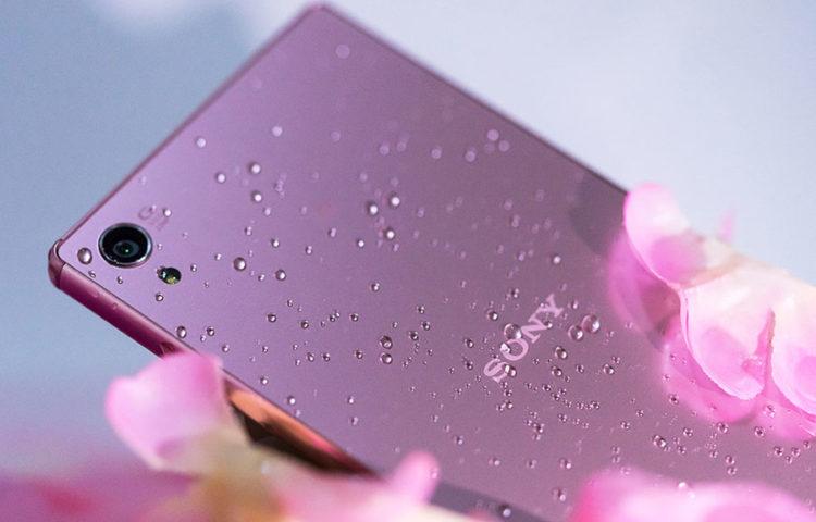 розовый Xperia Z5 Premium