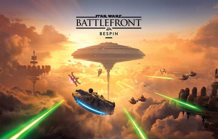 Дополнение Star Wars Battlefront Bespin для PS4