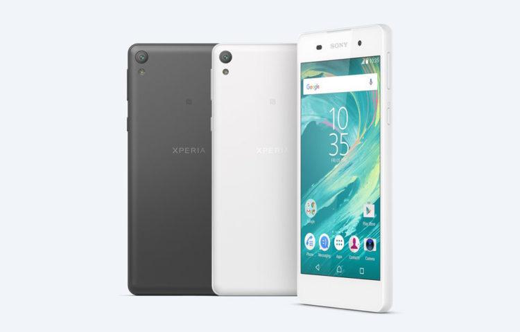 Анонс Sony Xperia E5