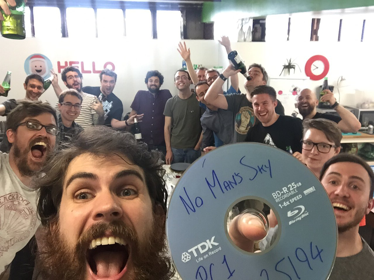 No Man's Sky gone gold
