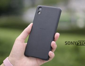 Обзор Sony SBC22 - чехол для Xperia X