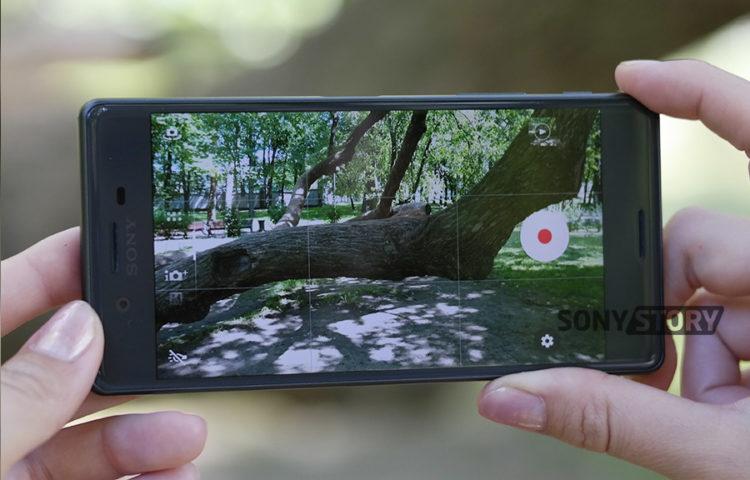 Обзор Sony Xperia X качество камеры фото
