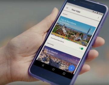 google trips - приложение для путешествий