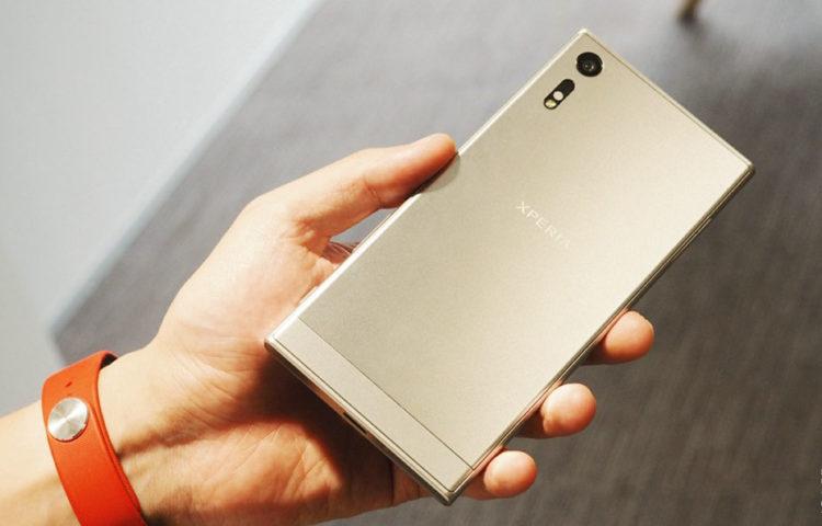 Живые фото Sony Xperia XZ