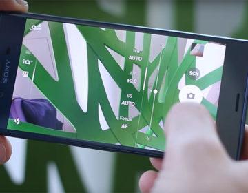 Камера Sony Xperia XZ ручной режим выдержка экспозиция