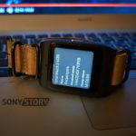 Обновление прошивка Sony SmartWatch 3