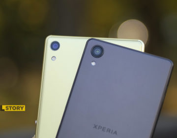 сравнение камер Xperia XA Ultra vs Xperia XA