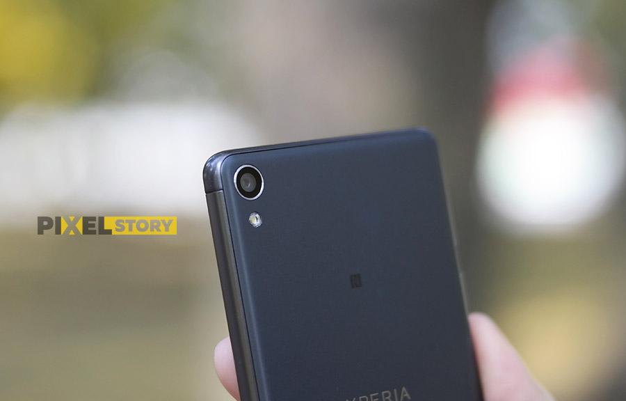 Обзор Xperia XA - основная камера