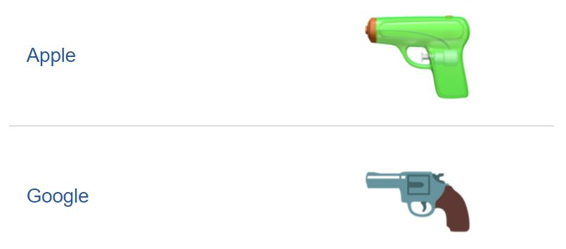 pistol-emoji-android-vs-apple
