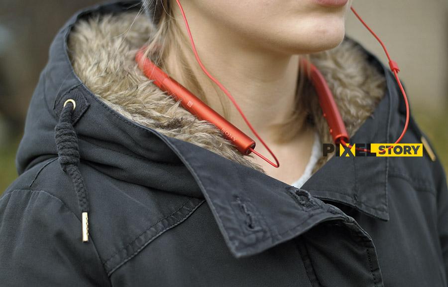 Обзор Sony h.ear in Wireless MDR-EX750BT - эргономика носка удобство