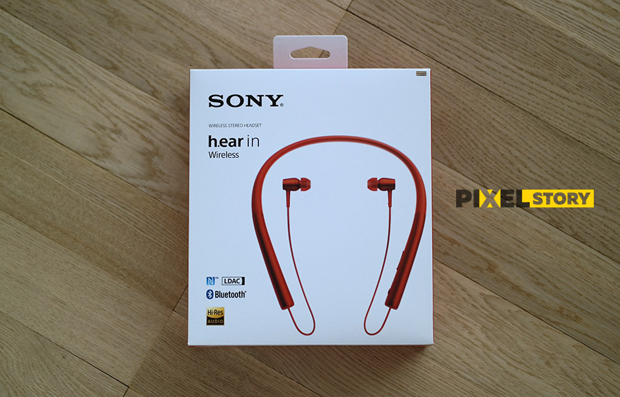 Обзор Sony h.ear in Wireless (MDR-EX750BT) - коробка