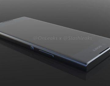 утечка нового смартфона Xperia 2017
