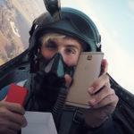 распаковка OnePlus 3T в воздухе
