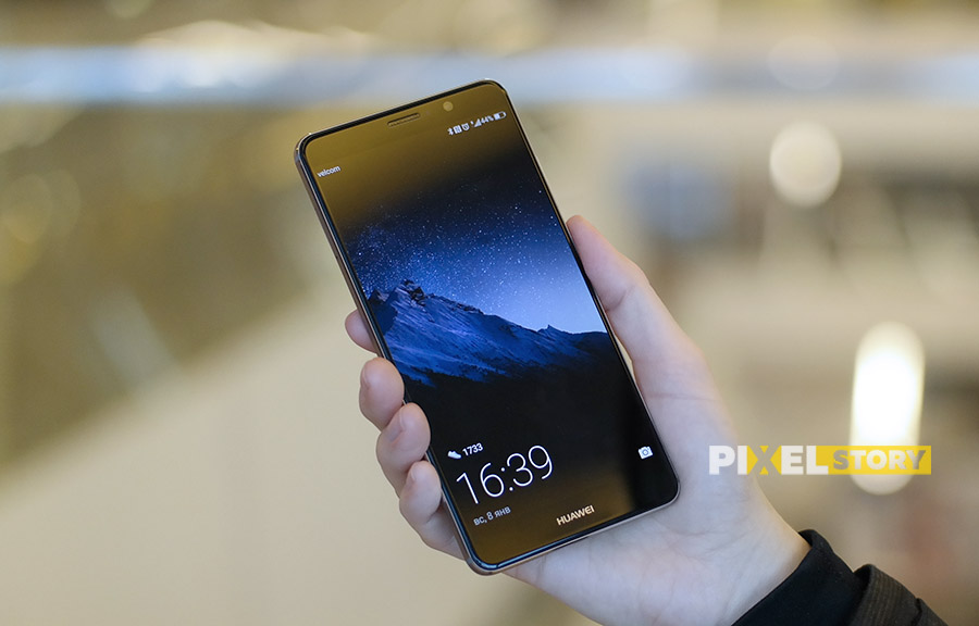 Первый взгляд Huawei Mate 9 Space Gray дизайн
