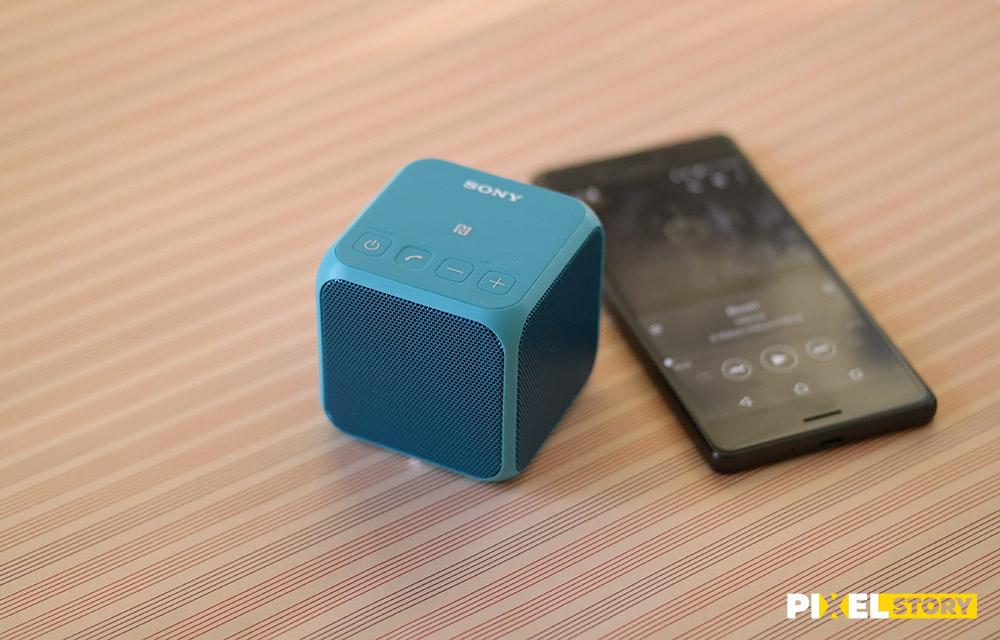 Обзор Sony SRS-X11 - качество звука