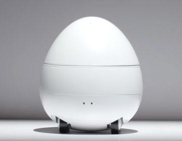 Яйцо на колесиках - робот Panasonic CES 2017