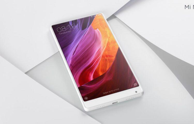 Белый Xiaomi-Mi-Mix