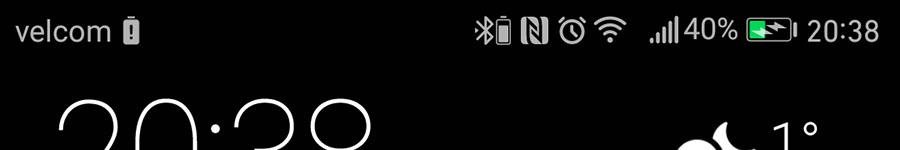 процент заряда Bluetooth гарнитур в EMUI 5.0 на Android 7.0 Nougat