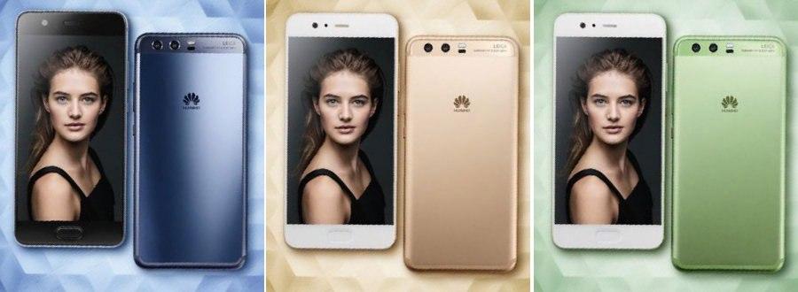 рендеры Huawei P10