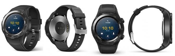 Дизайн Huawei Watch 2