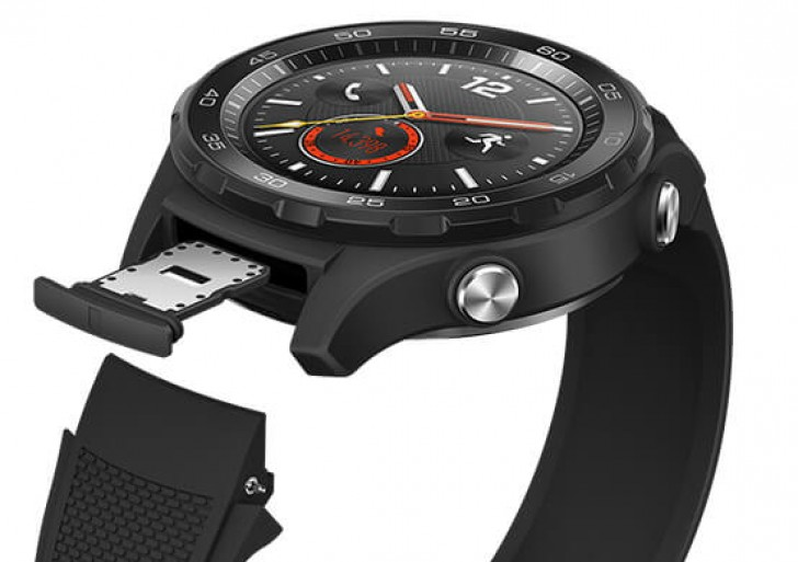 слот для SIM-карт Huawei Watch 2