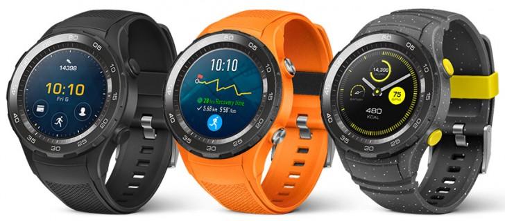 цвета Huawei Watch 2