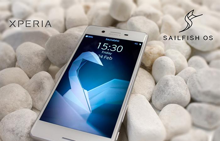 Sailfish на Sony Xperia