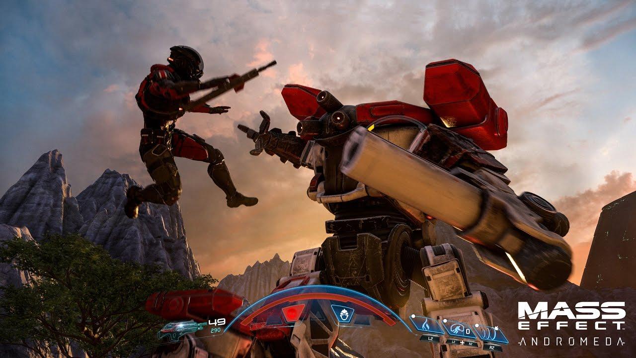 Mass Effect Andromeda игровой процесс открытый мир
