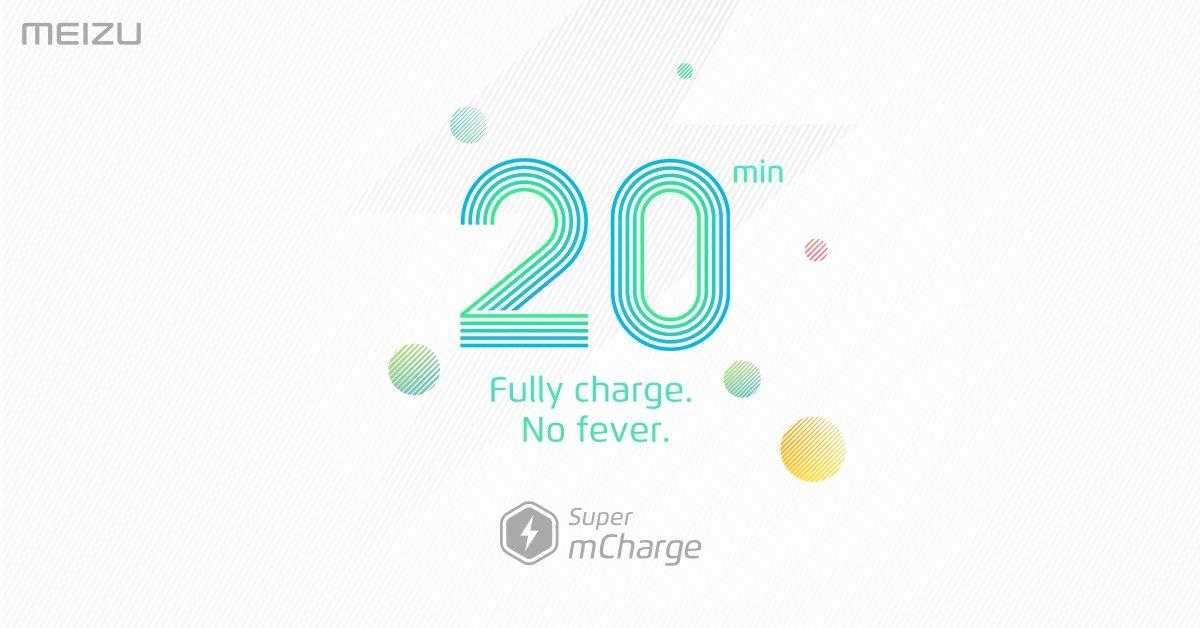 Очень быстрая зарядка Meizu Super mCharge - зарядка до 100% за 20 минут