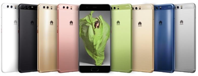 все цвета Huawei P10
