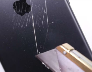 Сонибойство №14 - облезающий iphone 7 black