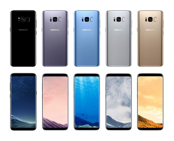 Galaxy S8 - все цвета