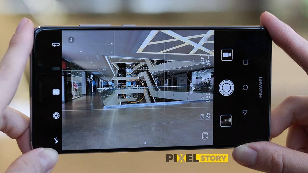 Обзор камеры Huawei EMUI 5.0 - ручной PRO режим в Huawei MAte 9