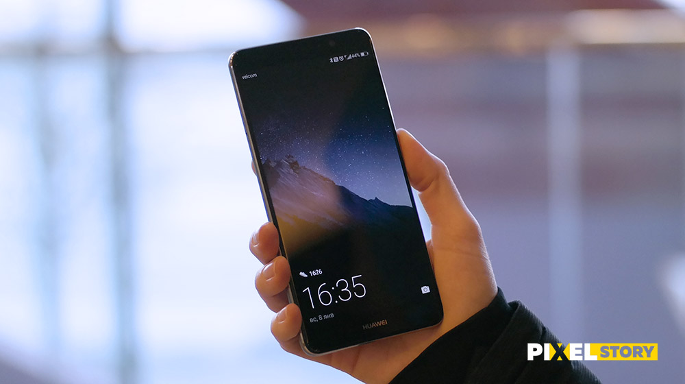 Обзор Huawei Mate 9 - экран LTPS