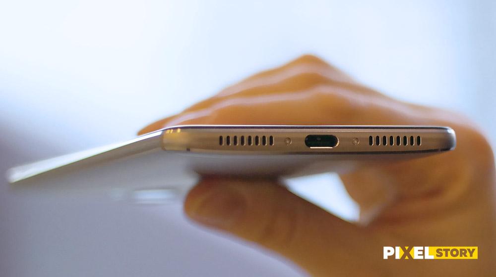 Обзор Huawei Mate 9 - порт USB Type C 3.1