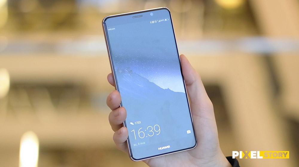 Обзор Huawei Mate 9 - яркий и большой экран