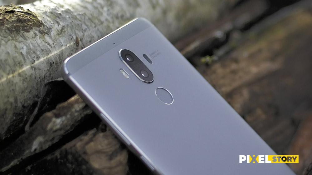 Обзор Huawei Mate 9 - быстрейший датчик отпечатка пальца