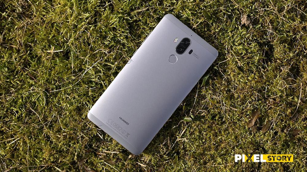 Обзор Huawei Mate 9 - на траве