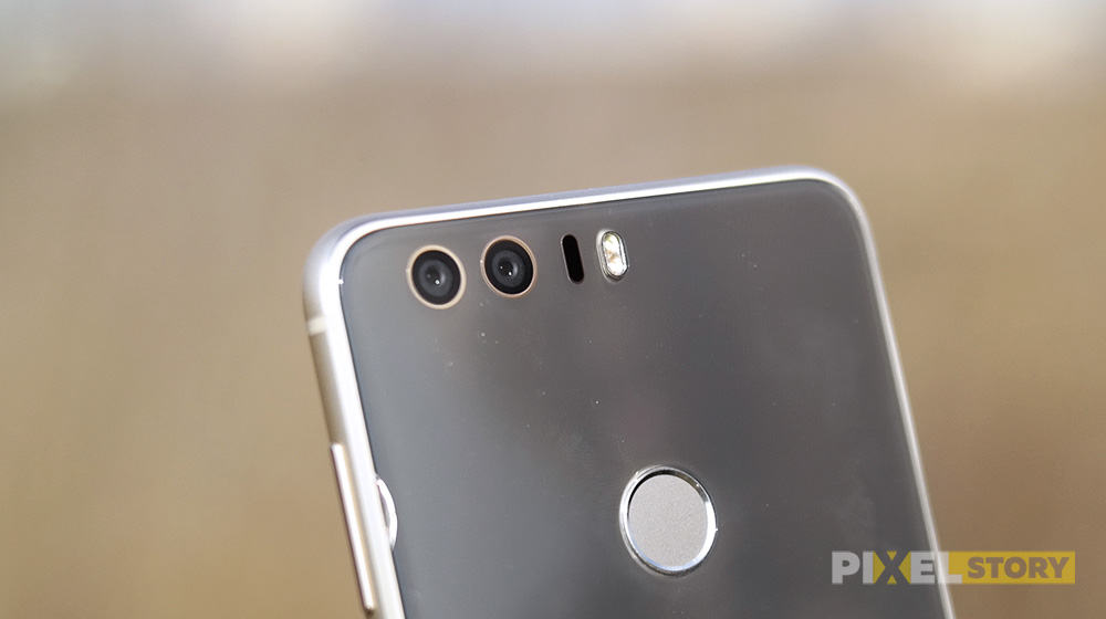 Обзор Huawei Honor 8 - двойная камера