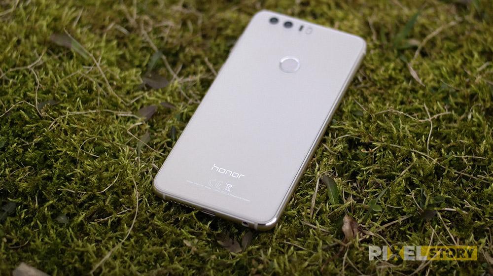 обзор Huawei Honor 8 - стекло и внешний вид
