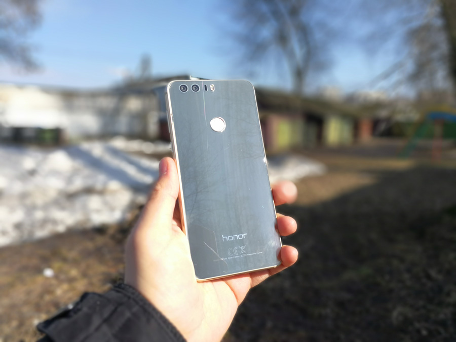 Обзор Huawei Mate 9 режим Defocus