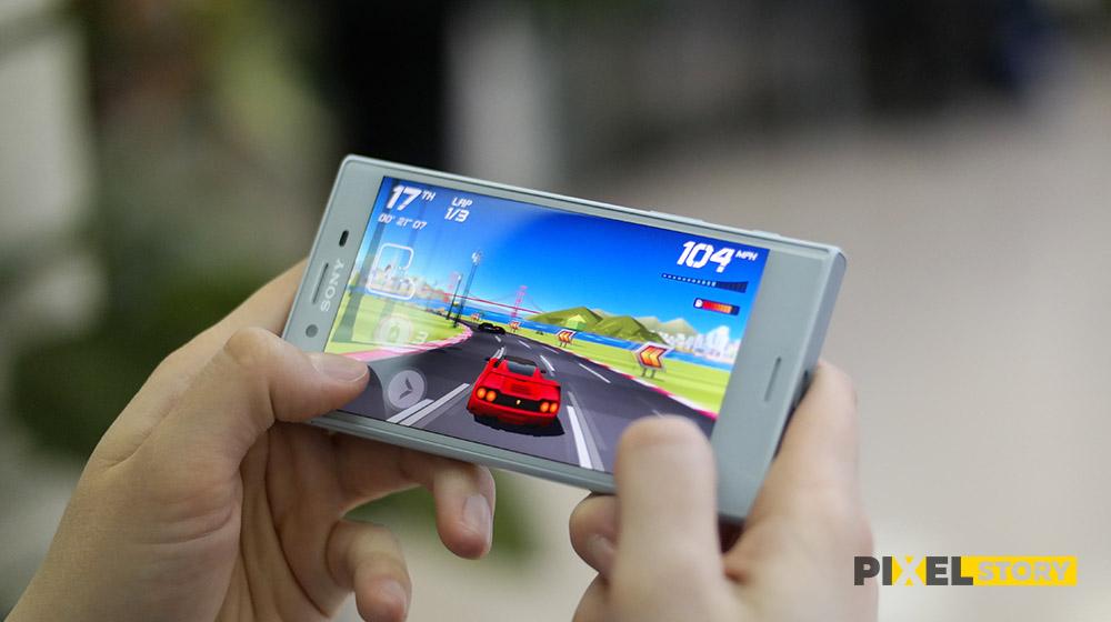 Обзор Sony Xperia X Compact - игры и геймплей
