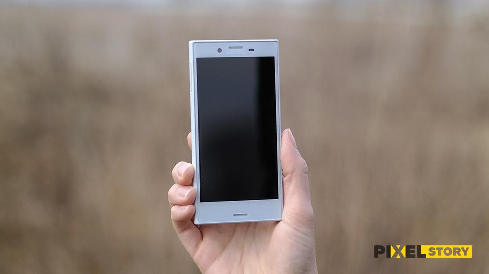 Обзор Sony Xperia X Compact - внешний вид