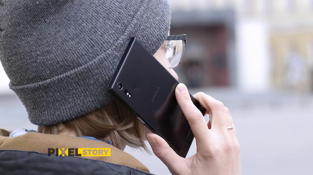 Обзор Sony Xperia XZ - передача речи и сигнала