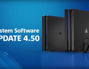 Обновление прошивки PS4 4.50 Sasuke